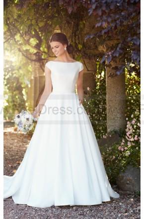 Wedding - Essense of Australia Modest Wedding Dress With Sleeves Style D2274