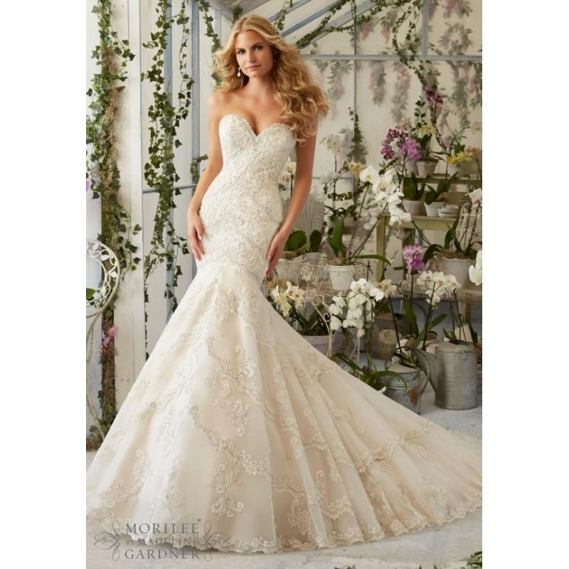 Wedding - Mori Lee Wedding Dress 2801 -  Designer Wedding Dresses