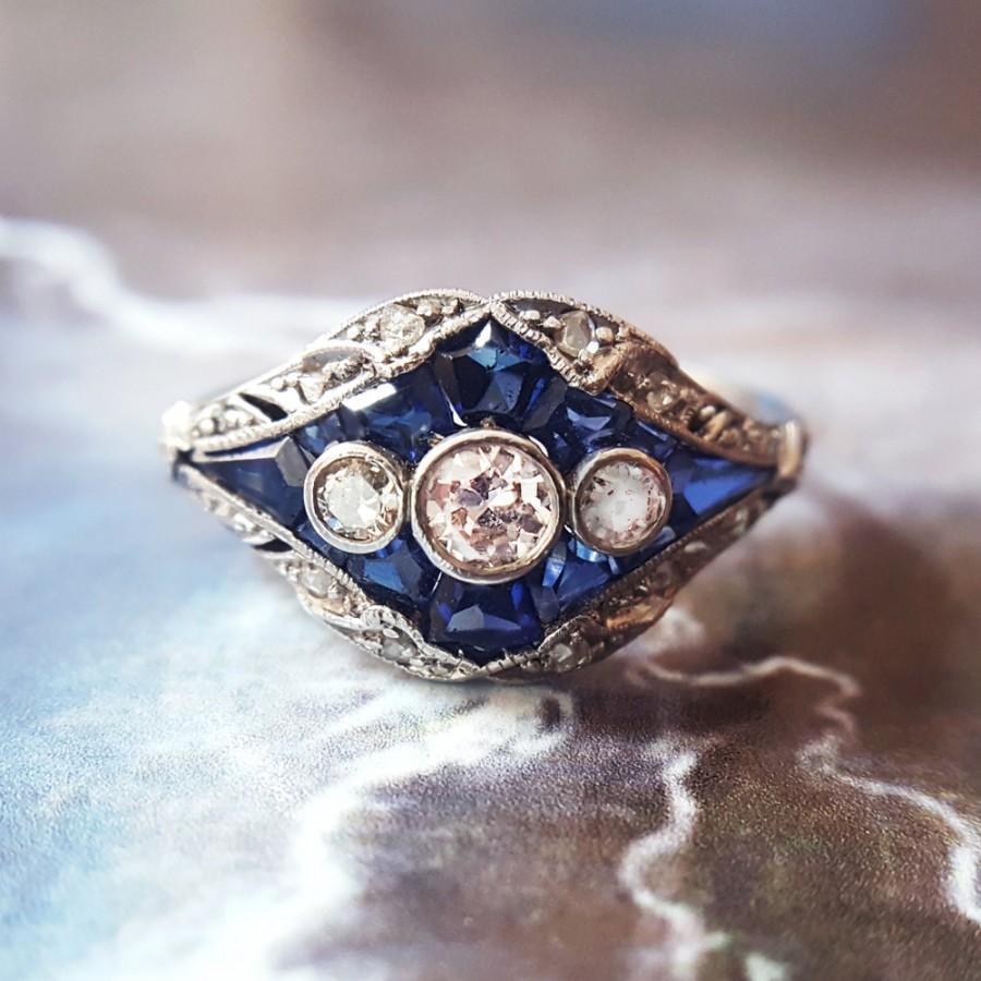 Mariage - Edwardian Engagement Ring