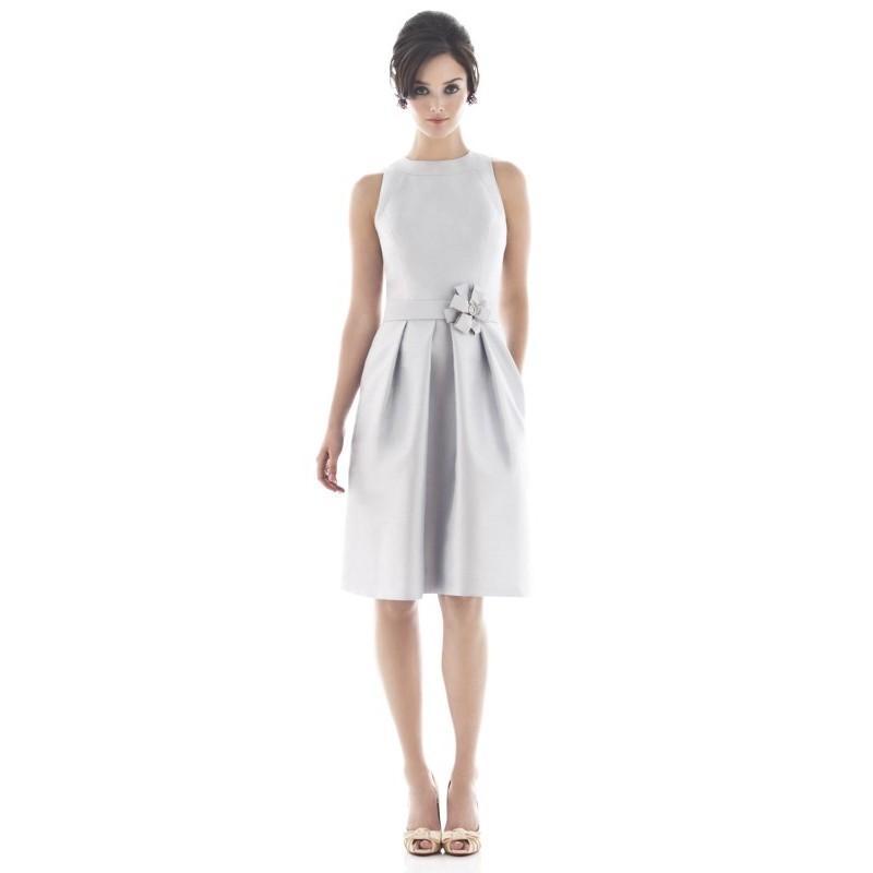 Свадьба - Alfred Sung D476 - Burgundy Evening Dresses