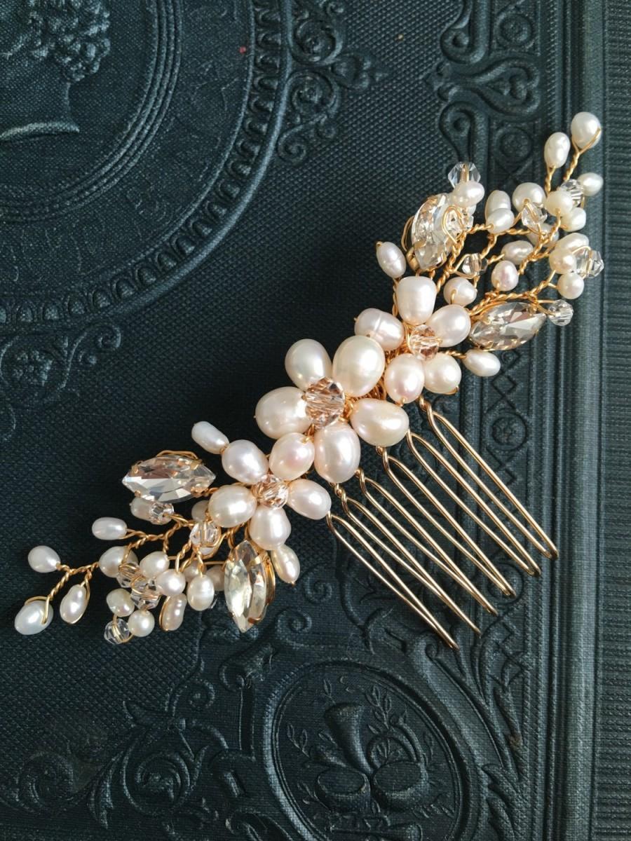 Свадьба - Bridal hair comb, wedding hair comb, bridal accessories, bridal headpiece, bridal hair piece, wedding comb, bridal hair accessories, bridal