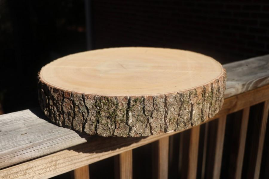 Wedding - Wood cake stand! Wood slab, wood slice, rustic cake stand, cake stand, tree, wood stump, tree stump, wood slab cake stand!
