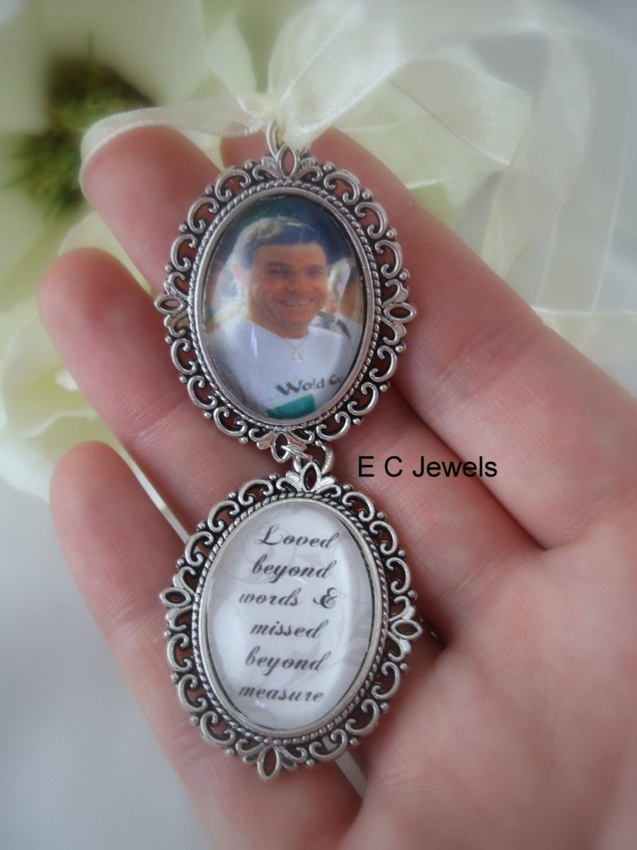 Wedding - Custom Photo/Memorial Bouquet Charm