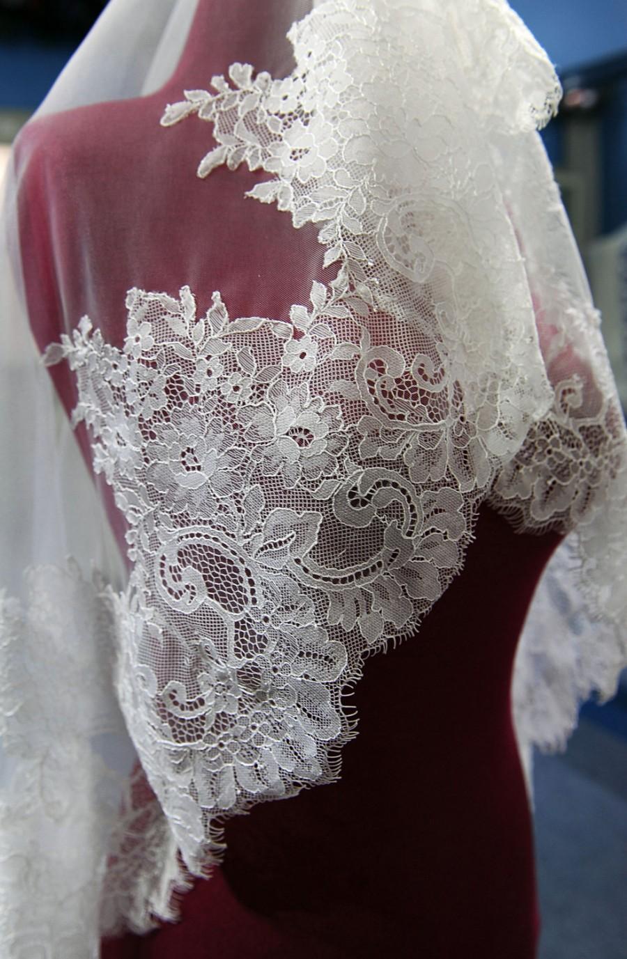 Свадьба - V2/ Lace wedding veil
