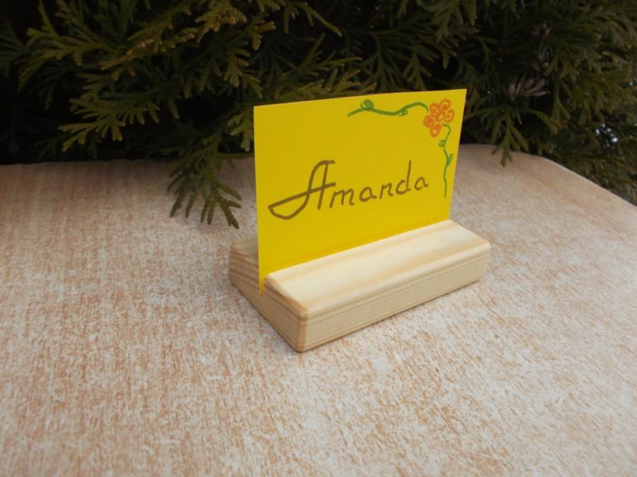 15 place card holders rustic wood table number holders wood menu holders wedding place card holders wooden holders cafe card holders