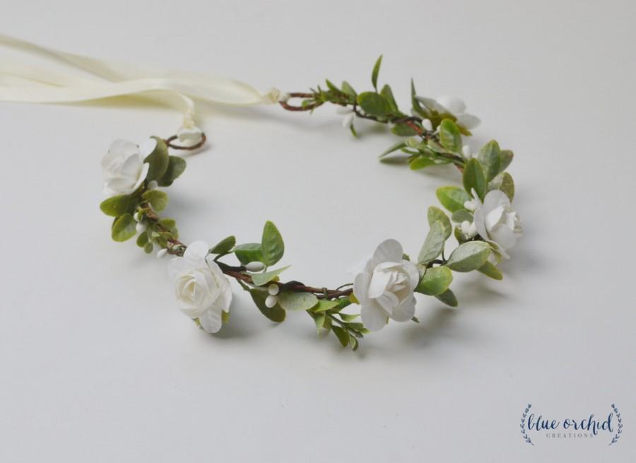 White Flower Crown 4d56ca50b49