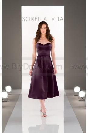 Wedding - Sorella Vita Midi-Length Bridesmaid Dress Style 8652 - Bridesmaid Dresses 2017 - Wedding Party