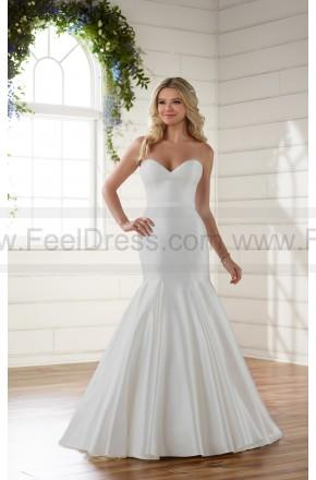 Mariage - Essense of Australia Chic And Simple Strapless Fit And Flare Wedding Dress Style D2216