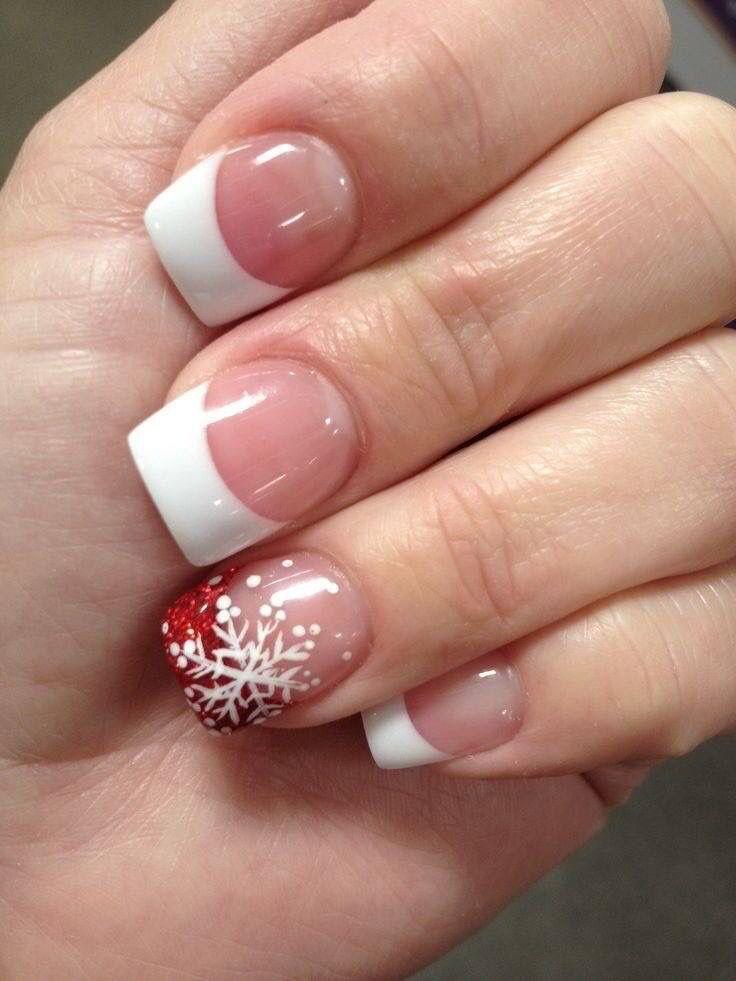 Clouer - 13 Snowflake Nail Art Designs For Winter #2636798 - Weddbook