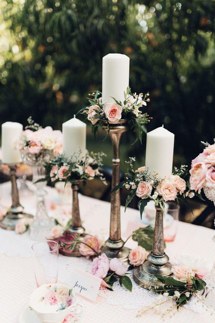 Mariage - Peach Orchard Wedding Inspiration