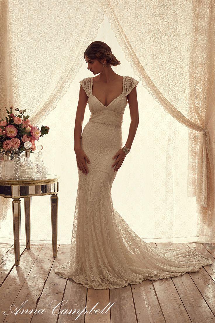 Wedding - Pretty Anna Campbell Spirit Bridal Collection
