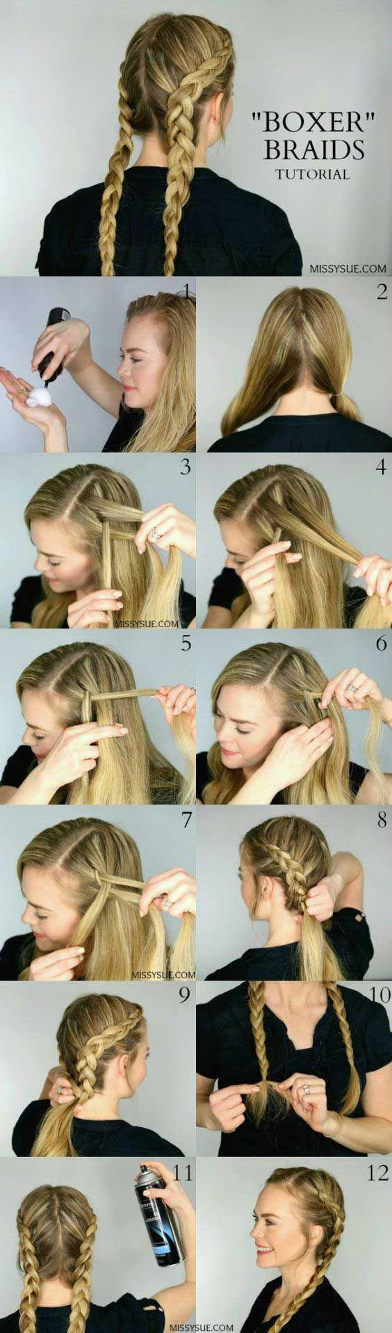 Свадьба - 16 Easy Tutorials On How To Do The Most Popular Hairstyles For Summer 2016