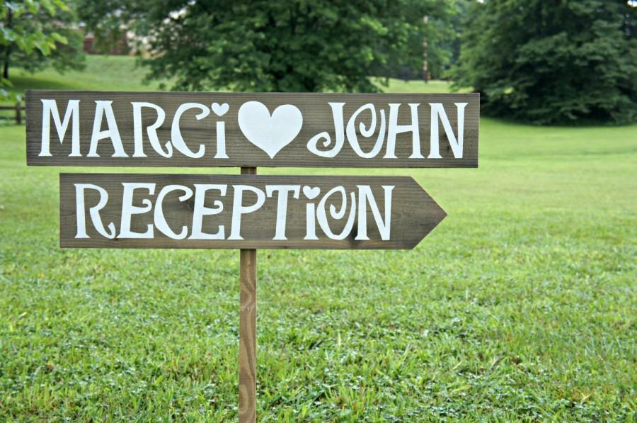 Mariage - Wedding Reception Sign, Wedding Reception Decorations, Wedding Reception Decor, Wedding Reception, Rustic Wedding Decor, Wood Wedding Signs