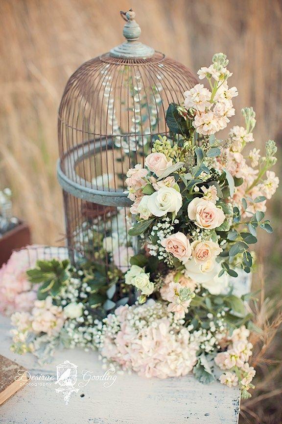 Wedding - Amazing Birdcage Wedding Centerpieces