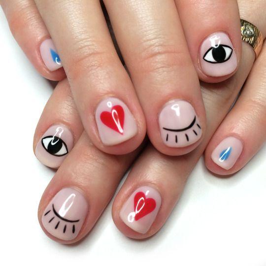 Свадьба - Cue Nail Art