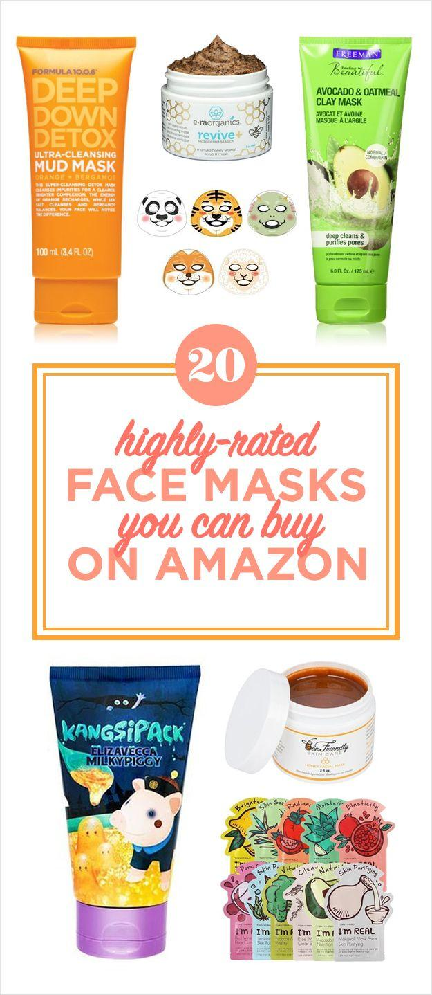 Свадьба - 20 Of The Best Face Masks You Can Buy On Amazon
