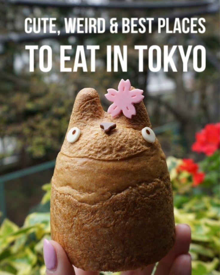 Hochzeit - CUTE, WEIRD & BEST PLACES TO EAT IN TOKYO