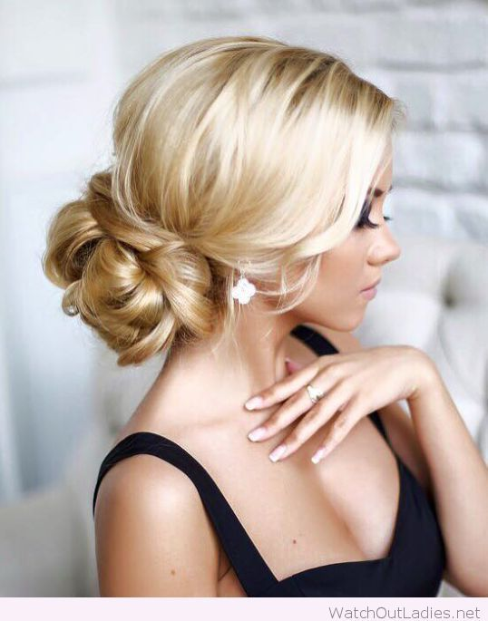 Mariage - Chic Low Hair For Wedding
