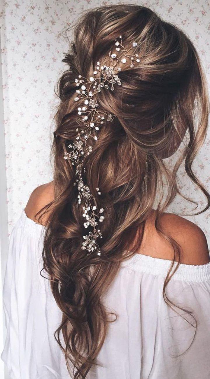 زفاف - ✿ 25 Beautiful Bridal Hair Ideas