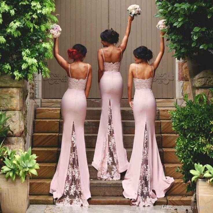 Wedding - Satin Bridesmaid Dress