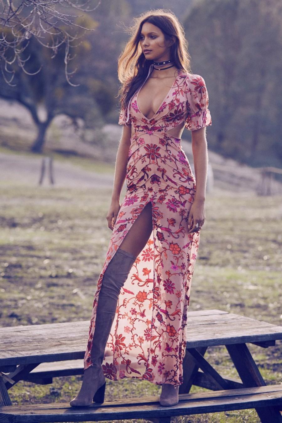 Wedding - FOR LOVE & LEMONS SAFFRON MAXI DRESS