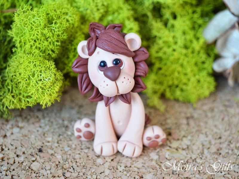 Custom Lion Cake Topper For Birthday Baby Shower Wedding