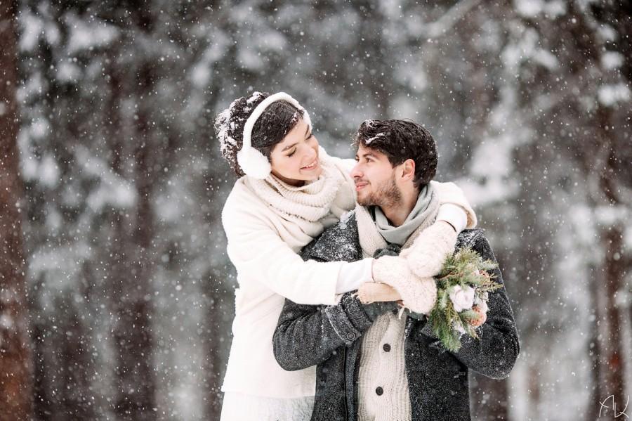 Mariage - Свадебная фотосессия зимой
