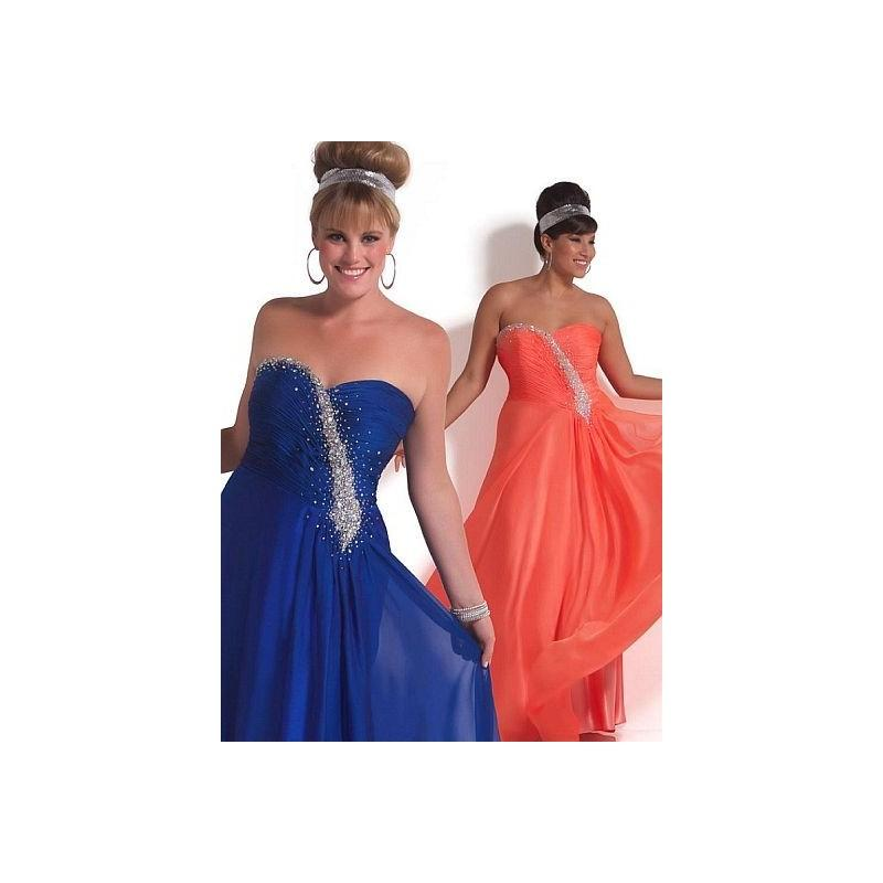 Свадьба - MacDuggal Cassandra Stone II Crystal Plus Size Prom Dress 6219K - Brand Prom Dresses