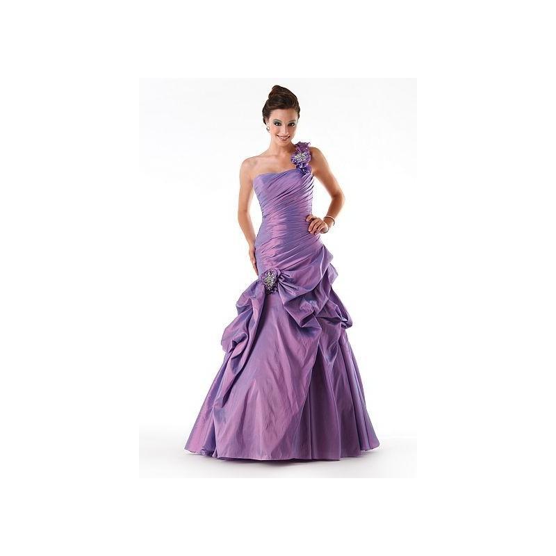 Mariage - Mystique One Shoulder Ruffle Prom Dress 3250 by Bonny Bridal - Brand Prom Dresses