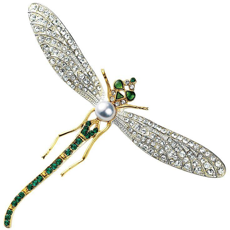 Mariage - Russian Dragonfly Pin