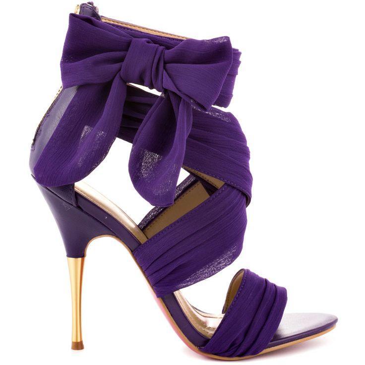 Hochzeit - Paris Hilton - Selene - Purple Chiffon