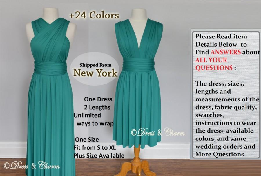 Green Party Dresses Infinity Dress Infinity Convertible Wrap Dress