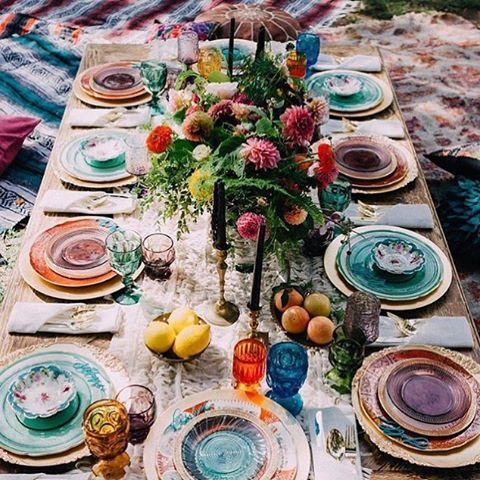 Mariage - Bohemian Accents And A Jewel Toned