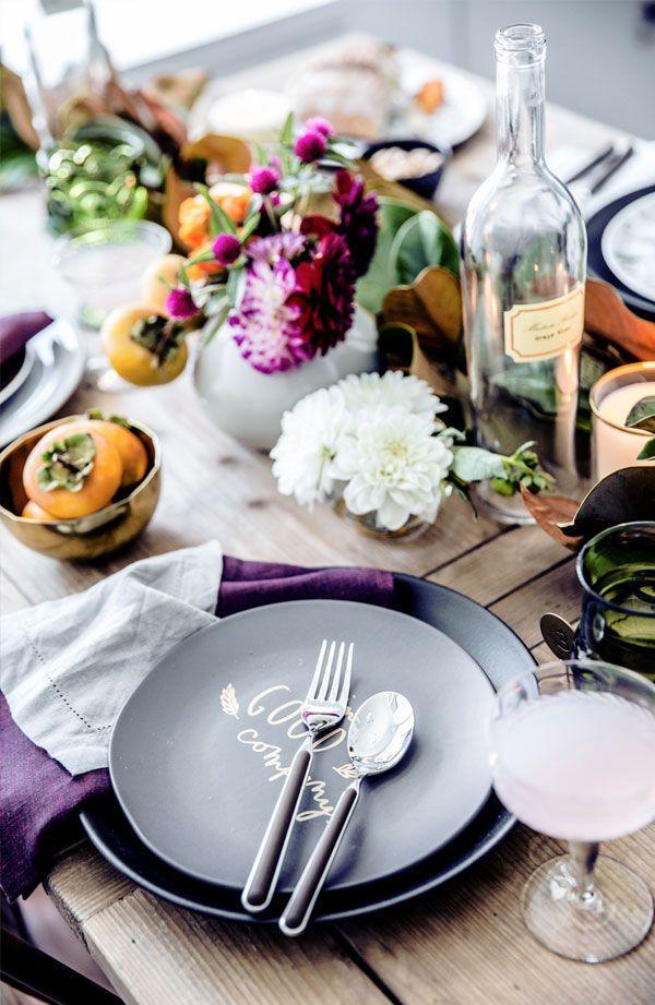 Wedding - Holiday Tabletop Decor Ideas