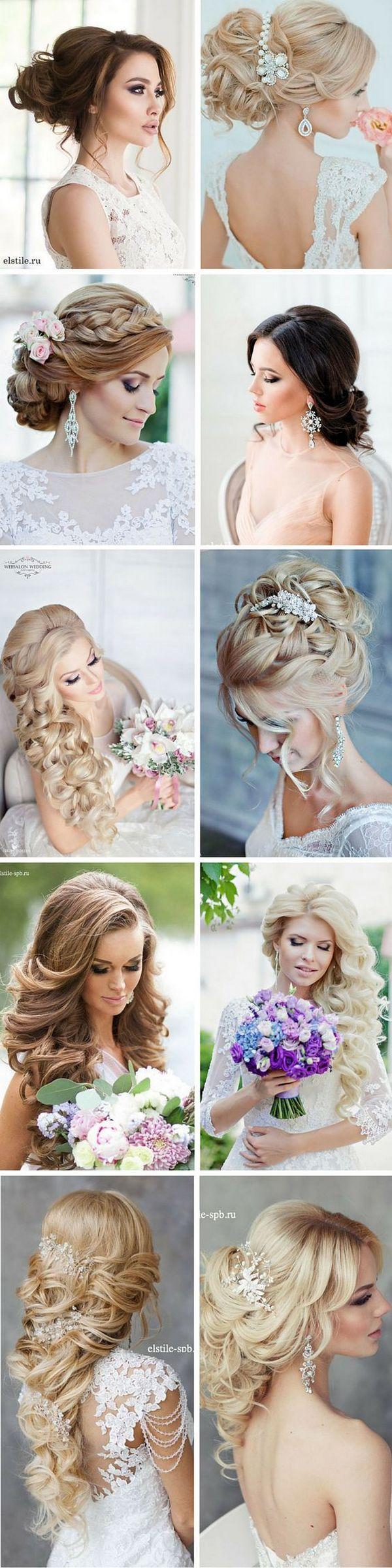 زفاف - 200 Bridal Wedding Hairstyles For Long Hair That Will Inspire
