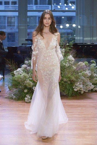 Wedding - Monique Lhuillier Bridal Fall 2017 Fashion Show
