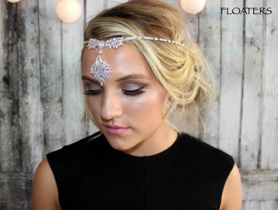 Hochzeit - Bridal Headband, Bridal Headpiece, Crystal Headband, Wedding Hair Jewelry