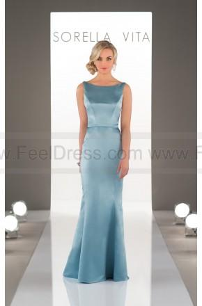 Свадьба - Sorella Vita Classic Satin Bridesmaid Dress Style 8918