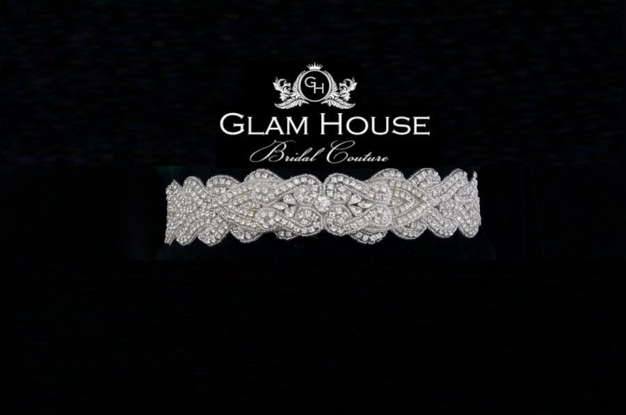 Свадьба - Wedding sash,dress belt,rhinestone belt,bridal accessories,bridal sash,bridal belt,wedding belt,Vintage wedding,winter wedding,sash,prom