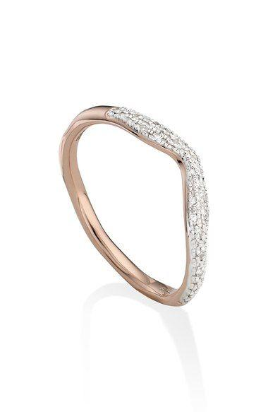 Mariage - 'Riva' Diamond Stacking Ring