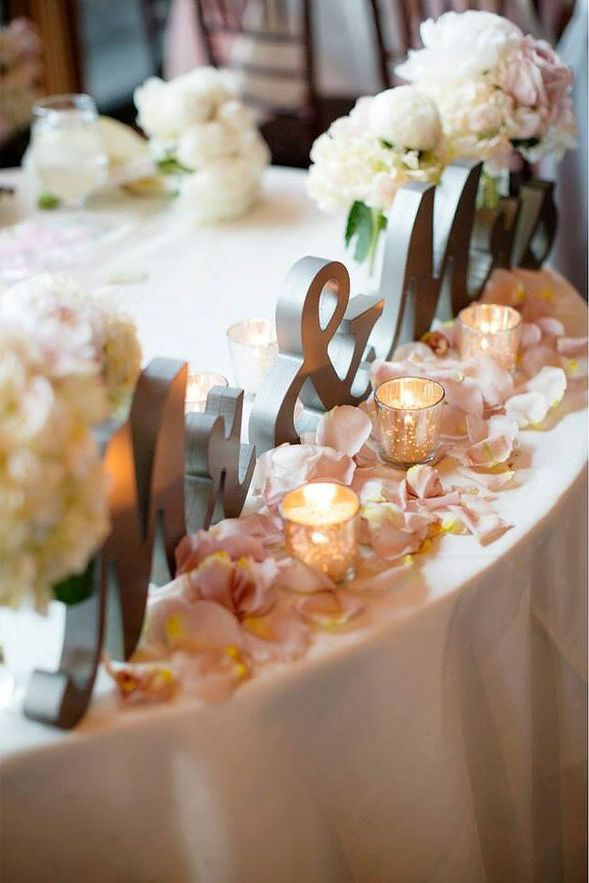 Wedding - Table Decor