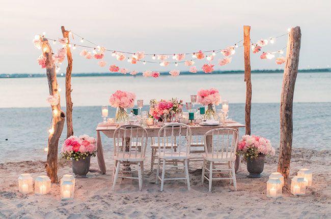Mariage - Intimate Bohemian Beach Elopement