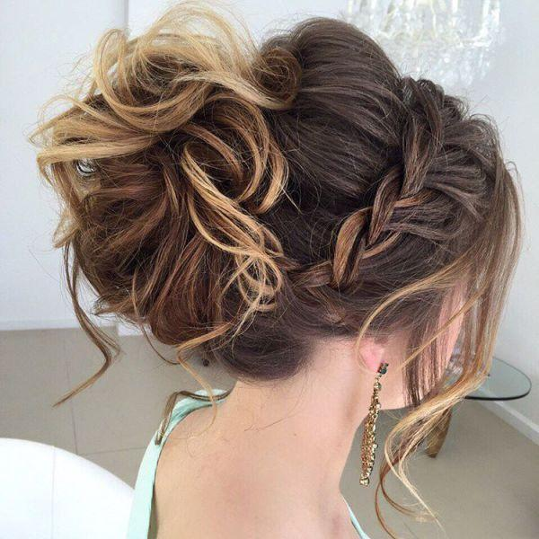 40 Most Delightful Prom Updos For Long Hair In 2016 2639625 Weddbook