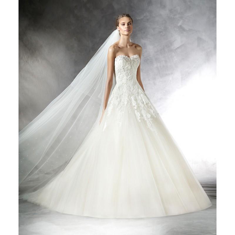 Hochzeit - Pronovias PRASA -  Designer Wedding Dresses