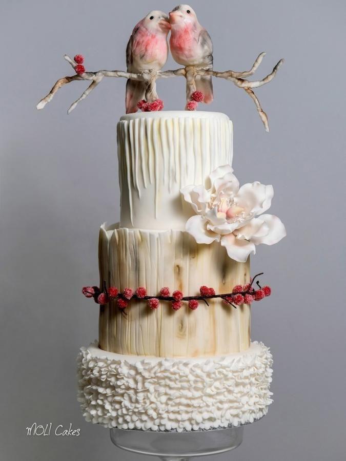 Wedding - Birds cake