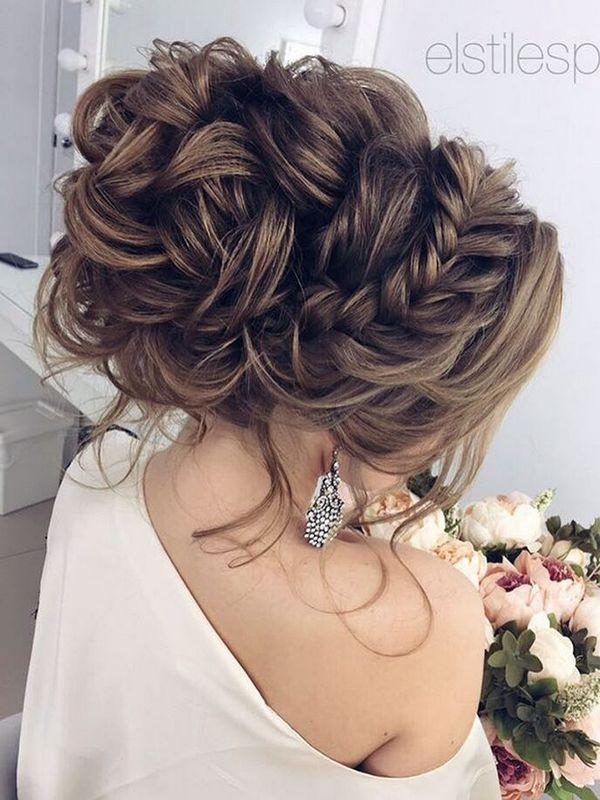 75 Chic Wedding Hair Updos For Elegant Brides 2639756