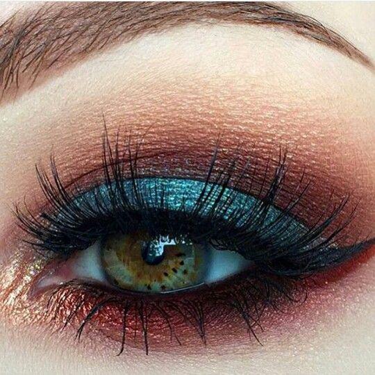 Свадьба - Dark Eyeshadow