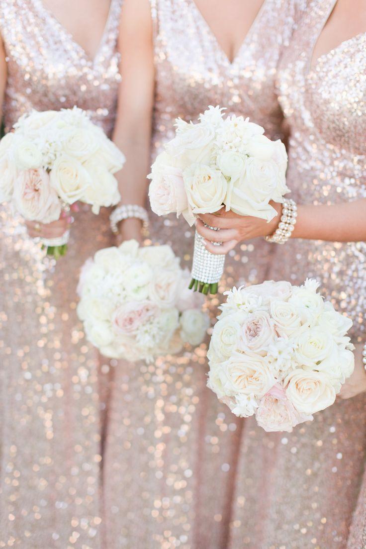 Brautjungfer - Sequin Wedding Dress #2639848 - Weddbook