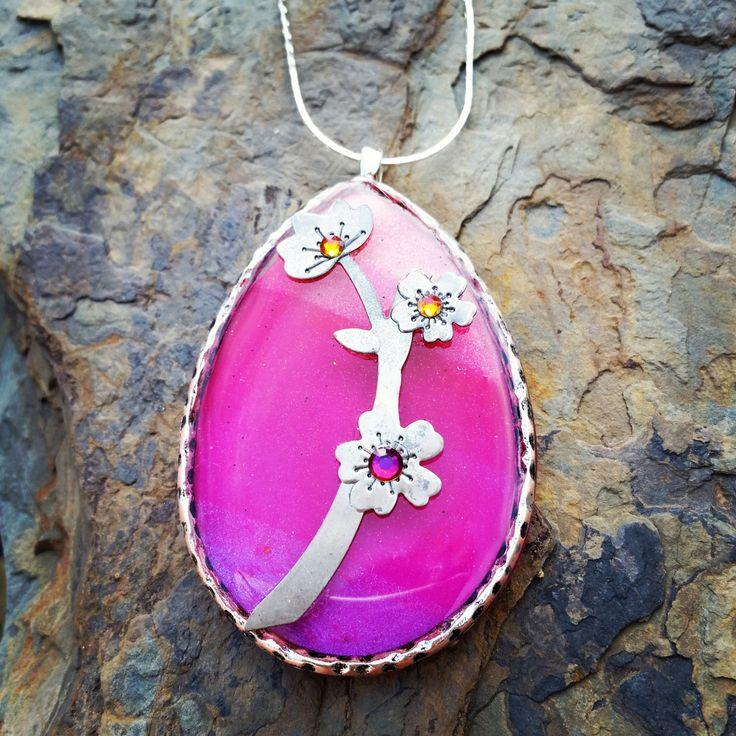Mariage - Ready To Blossom Necklace / Gift Idea For Her / One Of A Kind