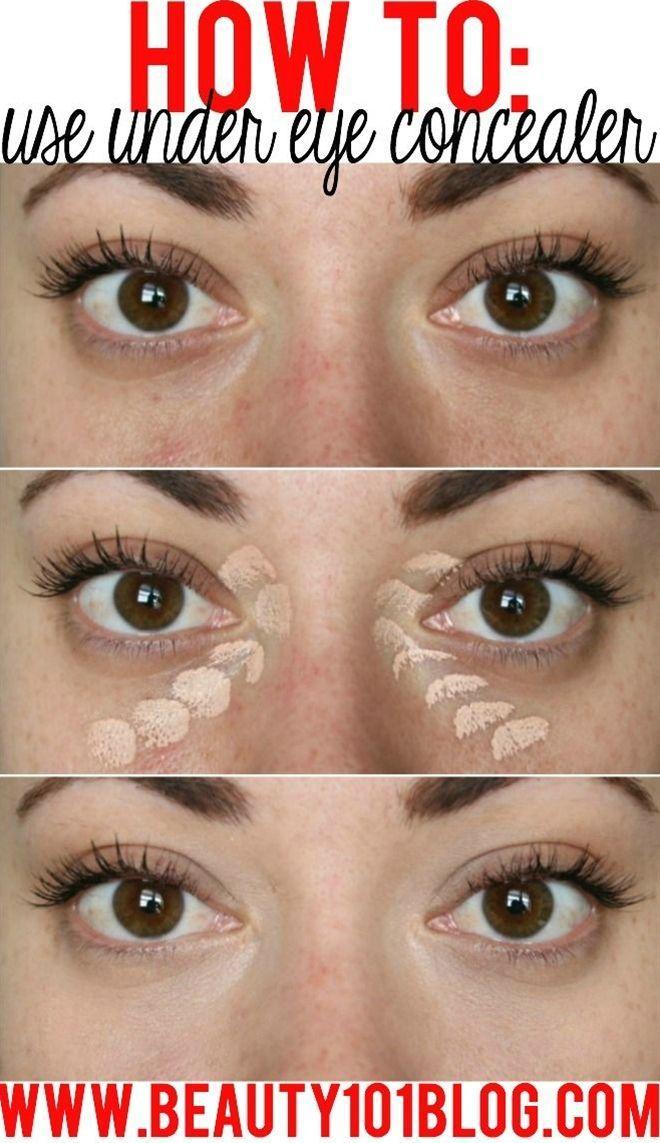 Свадьба - How To Use Undereye Concealer   Conceal Dark Circles